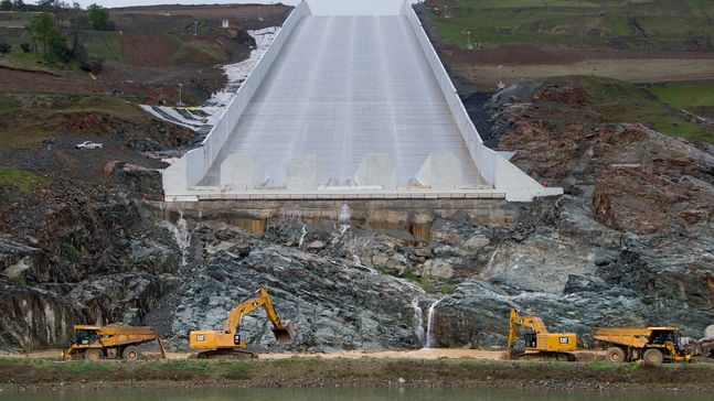 Watch Now: Water is being released down the Oroville Dam