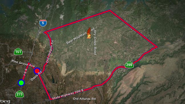 Mountain Fire burns 600 acres with 20% containment near ...