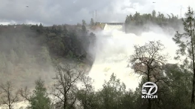 New Oroville Spillway to be used for first time Tuesday | KRCR