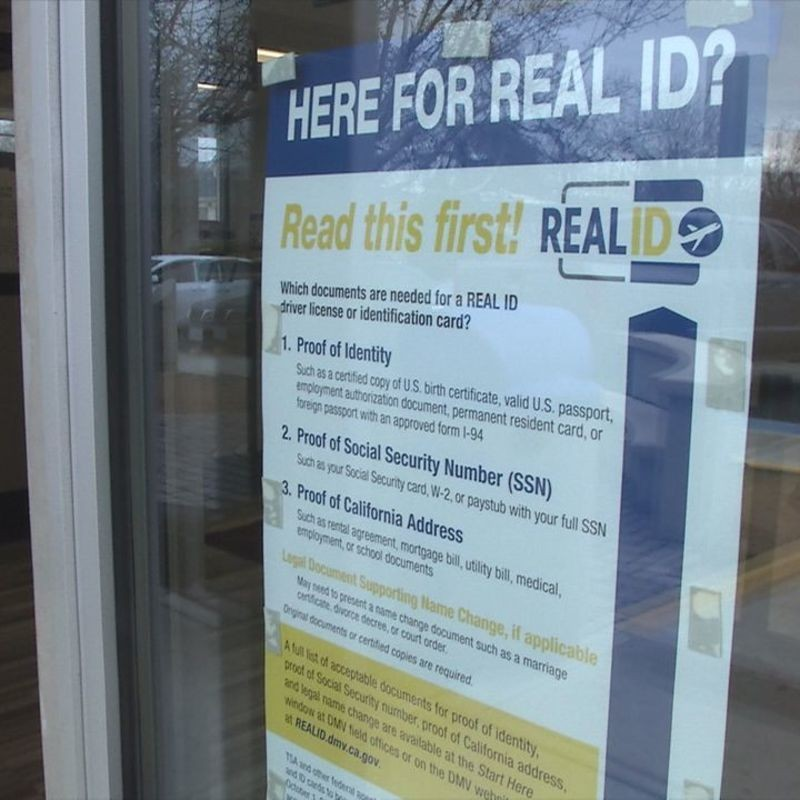 Real Id Act New Drivers License For Californians Krcr