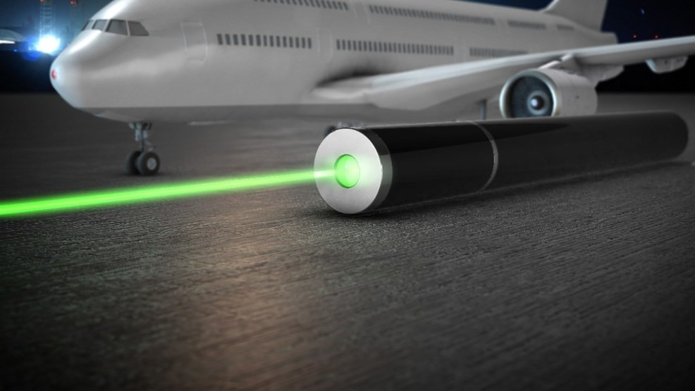 Airline pilot over Chico reports being targeted by a laser