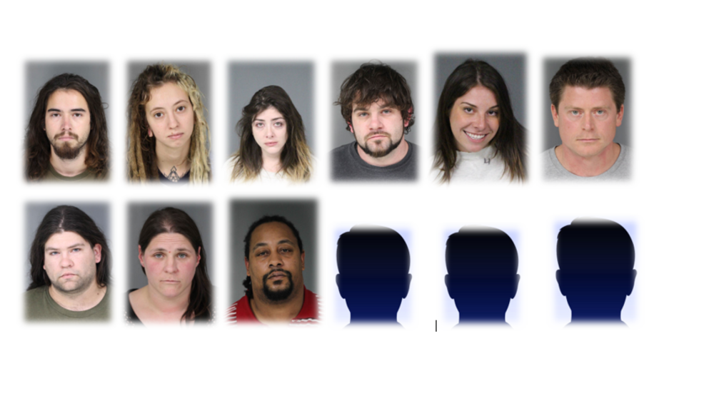 Mugshots: 3 staff, 8 patrons arrested for conspiring to sell illegal