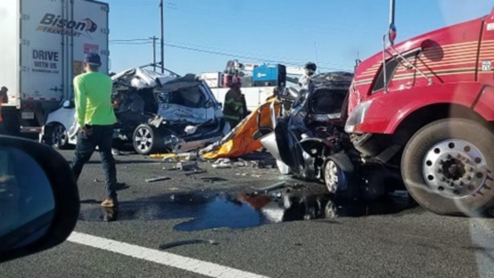 Hard closure following double fatality crash on State Route 99 at