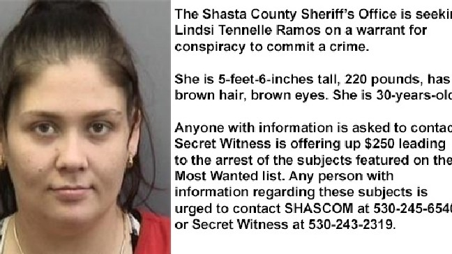 Shasta County Most Wanted: Week of Nov  22, 2015 | KRCR