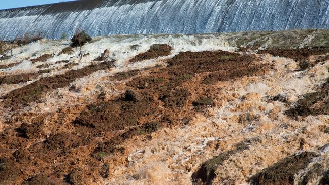 Two year anniversary of Oroville Spillway Crisis: Emergency spillway