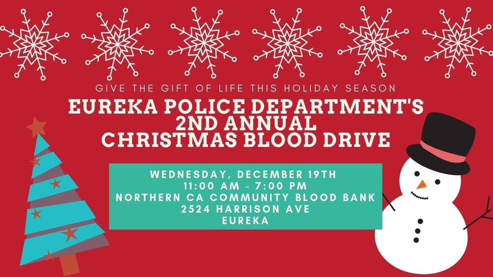 Christmas Blood Drive.Epd Holds 2nd Annual Christmas Blood Drive Wednesday In