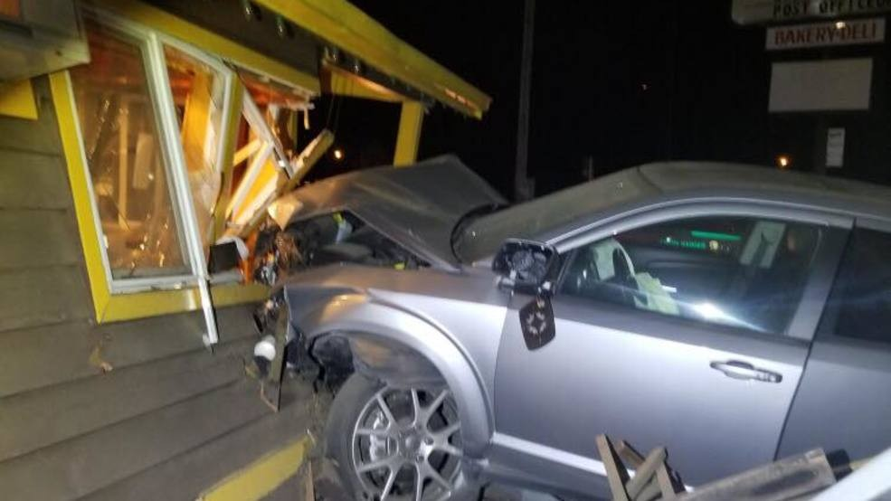 CHP: Car smashes into Java Hut in Smith River, driver