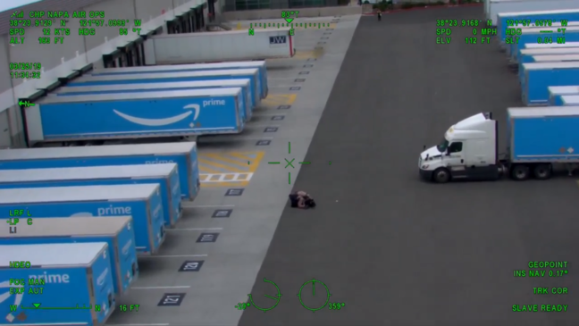 Pursuit from Sacramento to Vacaville demonstrates