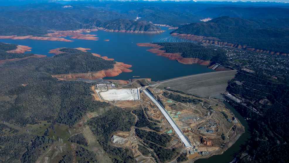 DWR puts plans in place for use of main spillway as Lake