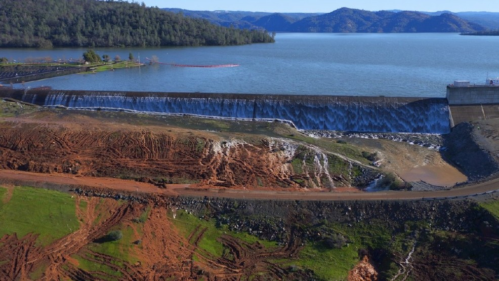 DWR holds news conf  about Oroville Dam | KRCR