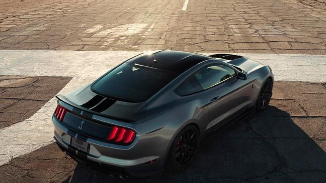 Ford shows most powerful street-legal Mustang with 760 hp   KRCR