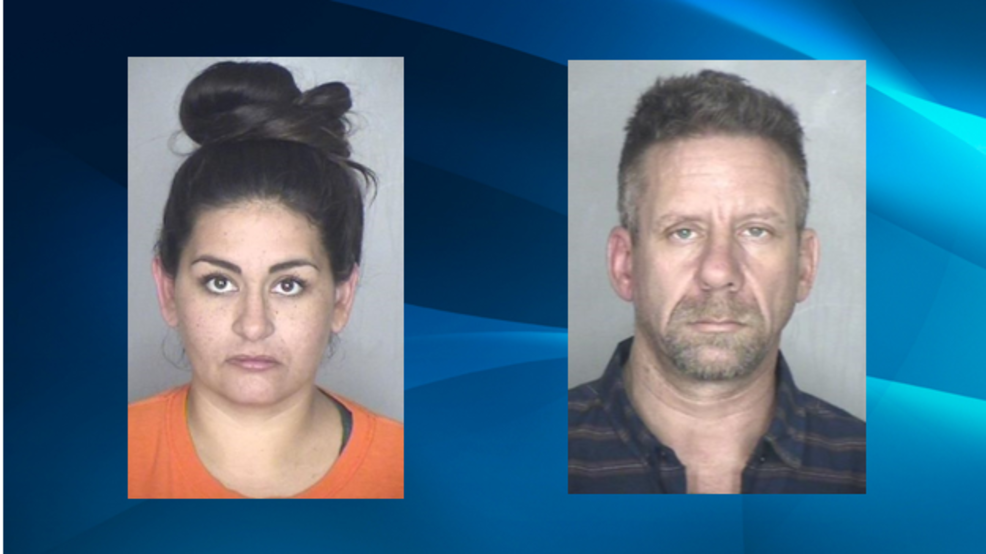 Two arrested after half-pound of meth allegedly discovered